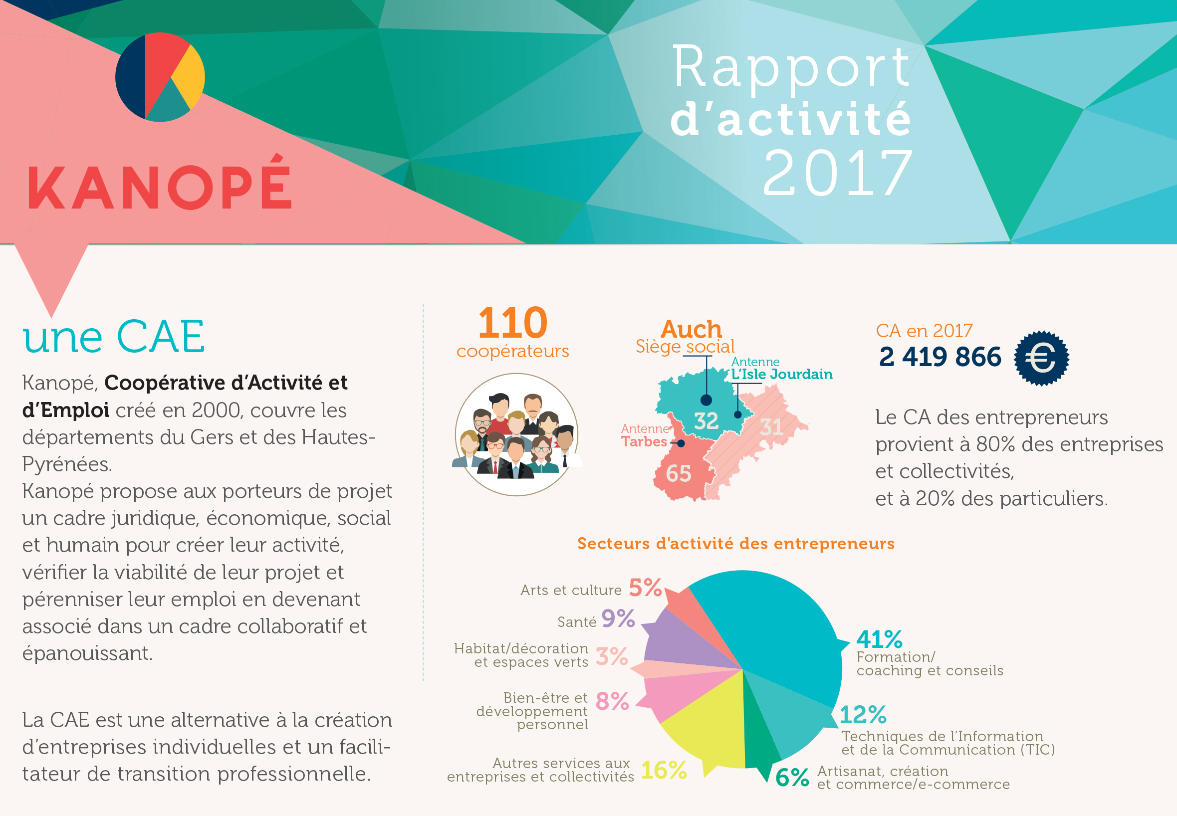 kanop rapport d 39 activit 2017 de la coop rative d 39 activit et d 39 emploi. Black Bedroom Furniture Sets. Home Design Ideas